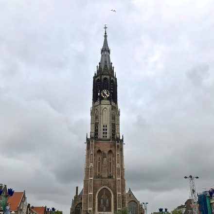See the beautiful old New Church on our Food Tours of Delft