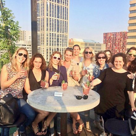 Rooftop cocktails on our Rotterdam Food Tours