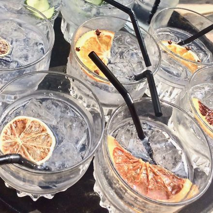 Who ever heard of drinking gin-tonic with your chips? We did, and it's gorgeous!
