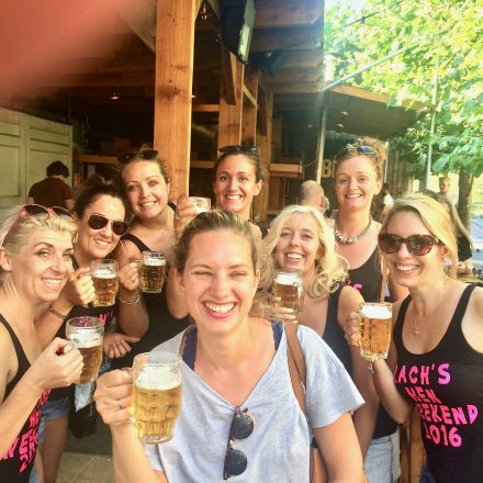 Our beer tour is also for the ladies, as you can see here on this hen do.