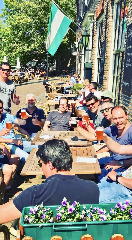 Beer and bitterballen are a great combination, especially when you combine it with sunshine on our Rotterdam Food Tours.
