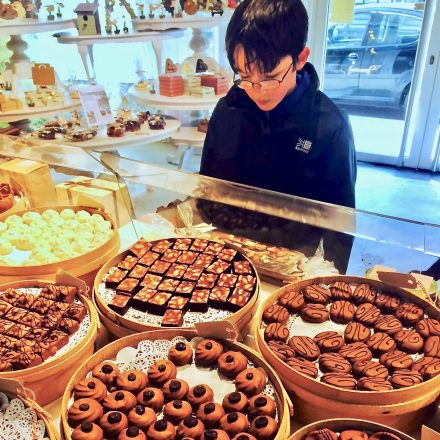 Chocolate on our food tours